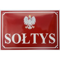 Tablice emaliowane dla sołtysów