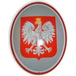 Tablica urzędowa, emaliowana, metalowa, Godło Polski